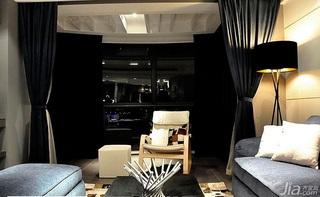 简约风格20万以上120平米阳台窗帘效果图