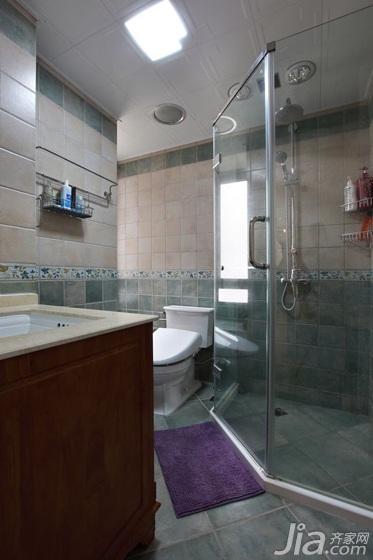 一居室简洁经济型80平米卫生间洗手台效果图