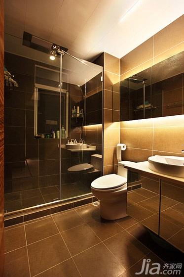 简约风格二居室大气经济型卫生间洗手台效果图