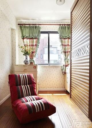美式乡村风格二居室140平米以上储藏室沙发效果图