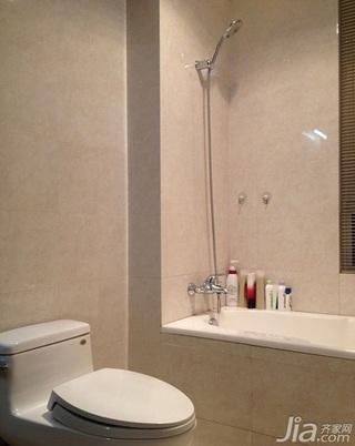 混搭风格三居室130平米卫生间设计