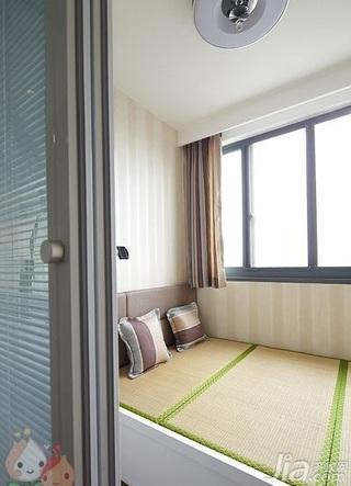 简约风格三居室120平米榻榻米安装图