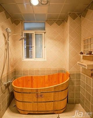 欧式风格二居室90平米卫生间装修