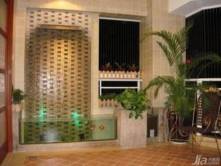 中式风格四房温馨暖色调140平米以上阳台椅子效果图