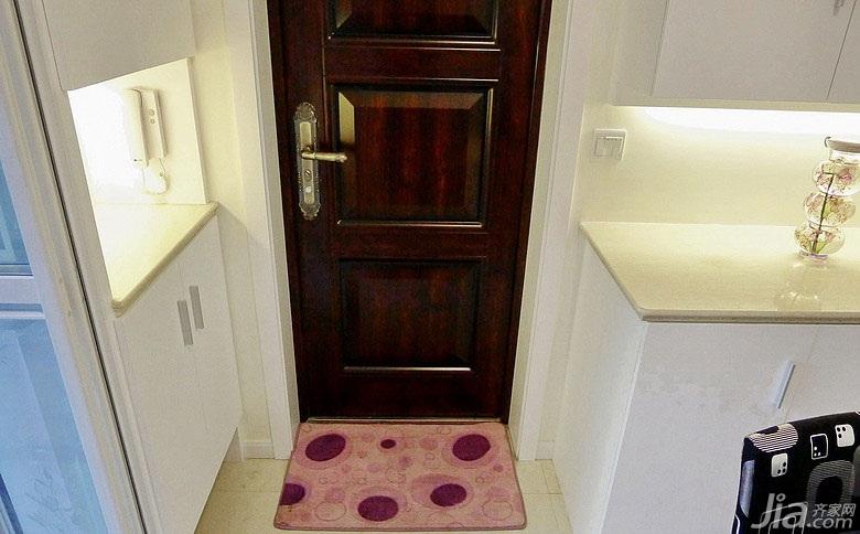 简约风格小户型40平米玄关玄关柜效果图