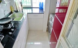 简约风格小户型40平米厨房装修图片