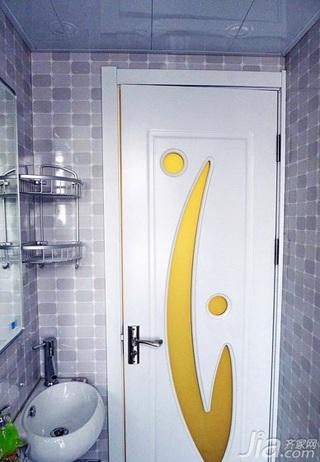简约风格小户型40平米卫生间洗手台图片