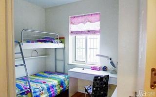 简约风格小户型40平米儿童房床图片