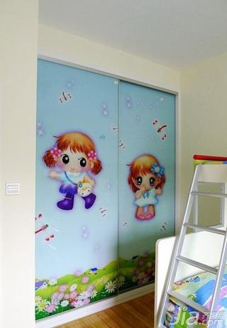 简约风格小户型40平米衣柜图片