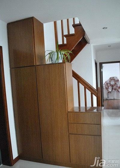 中式风格复式140平米以上隔断玄关柜效果图