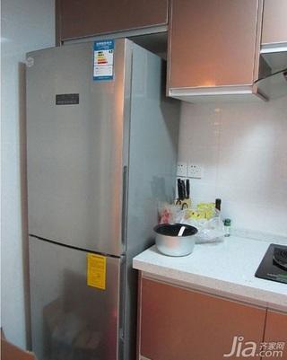 简约风格三居室90平米厨房橱柜安装图