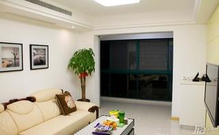 简约风格三居室20万以上客厅沙发效果图