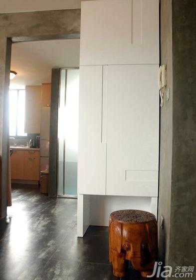 简约风格小户型40平米玄关玄关柜图片
