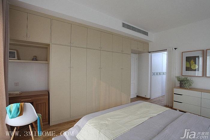 三米设计简约风格富裕型140平米以上衣柜图片