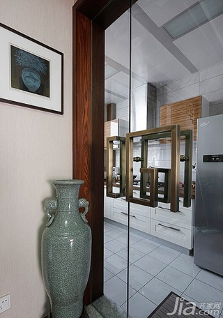 中式风格三居室豪华型厨房装潢