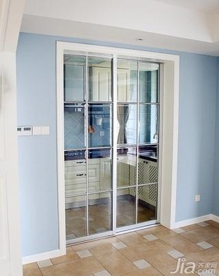 田园风格二居室90平米厨房设计图