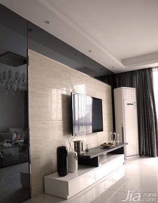 复式20万以上140平米以上客厅电视背景墙电视柜效果图