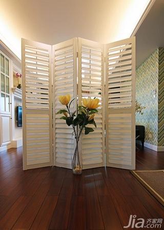 美式风格三居室140平米以上屏风隔断屏风效果图