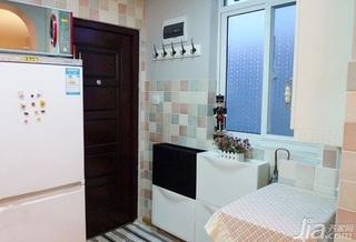 宜家风格一居室经济型玄关玄关柜图片