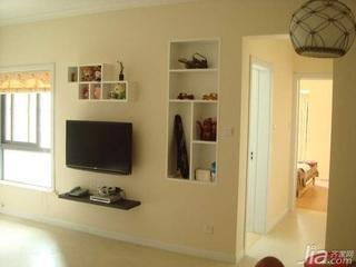 欧式风格二居室5-10万80平米客厅新房家装图片
