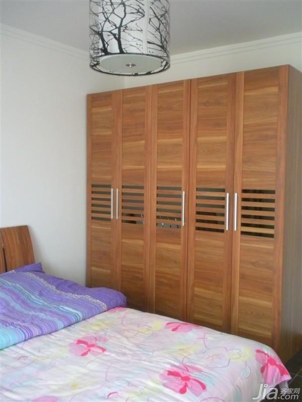 简约风格四房舒适10-15万120平米玄关衣柜新房家装图