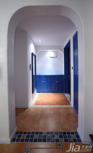 地中海风格三居室富裕型婚房家装图