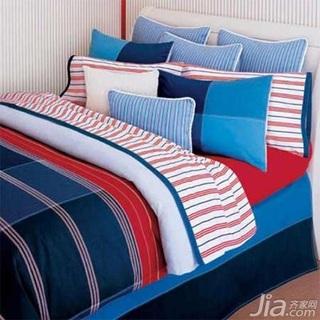 清新甜美卧室 9款极致简约舒适床品