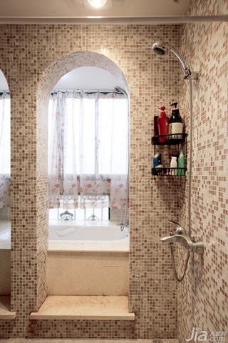 新古典风格二居室古典富裕型卫生间装潢