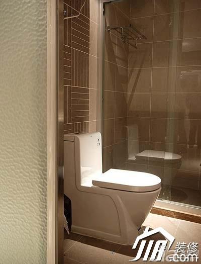 风格公寓经济型90平米卫生间装修图片高清图片