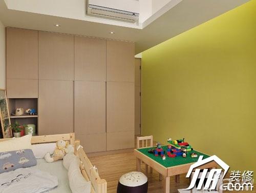 简约风格三居室富裕型120平米儿童房衣柜图片