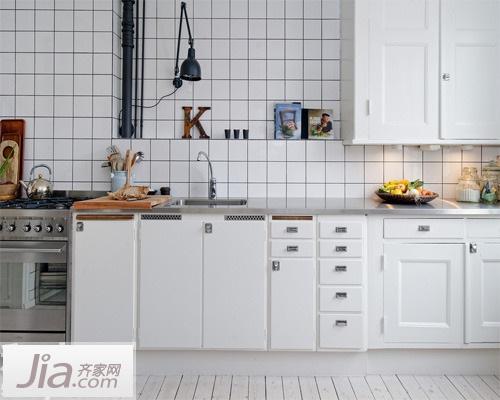 小清新不油腻 12款北欧风格厨房装修效果图 (全文)