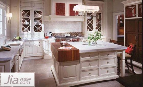 缔造美女厨房 15款白色厨房设计