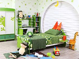 超萌!青少年兒童家具——青蛙王子1.5m床