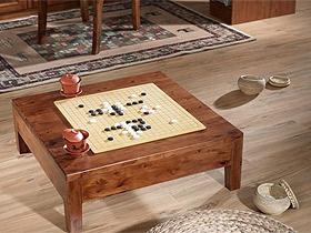 中式田園風格 香柏木棋盤桌