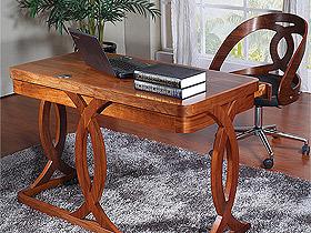 高贵典雅简约实木电脑桌