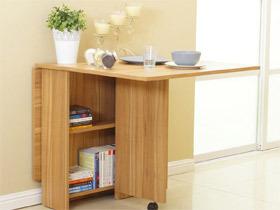 小户型现代简约风折叠餐桌