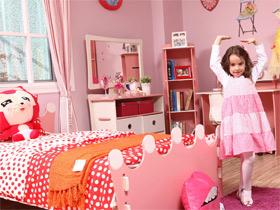 夢幻粉色兒童房 愛麗絲1.2m兒童床