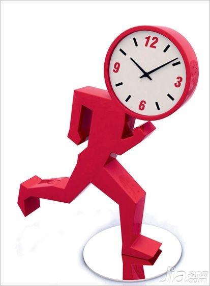 奔跑的座钟