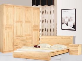 新西兰松木1.8米双人床