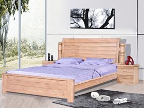 新西兰松木实木1.8米双人床