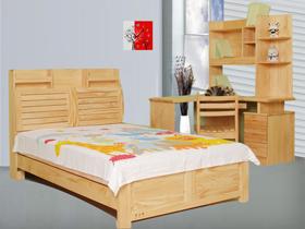 新西兰松木1.2米儿童床 环保家具