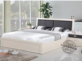 儲高箱板式床效果圖