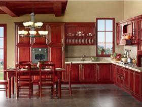 中式古典风格整体厨房橱柜