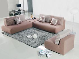布艺沙发组合客厅转角沙发