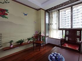 一室改成三室 送给父母的中式豪宅