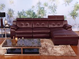 头层牛皮时尚功能沙发