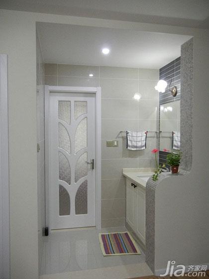 卫生间半截隔断房间卫生间隔断图片9