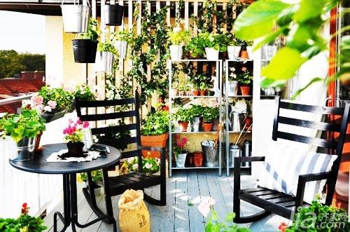 为阳台增添美景 17款阳台花园打造方案