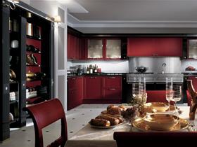 現代簡約整體大廚房