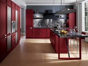 简约时尚整体橱柜开放厨房